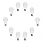 لامپ حبابی 9 وات تیراژه بسته 10 عددی