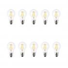 لامپ ال ای دی فیلامنتی 8 وات ای دی سی بسته 10 عددی