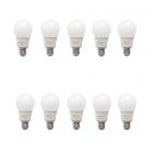 لامپ حبابی 9 وات ای دی سی بسته 10 عددی