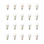 لامپ حبابی 10 وات ای دی سی بسته 20 عددی